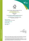 Certifikát FSC